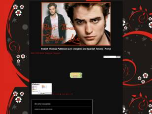 Foro gratis : Robert Thomas Pattinson Live