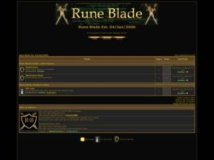 Welcome to Rune Blade
