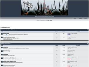 Russian Military Forum