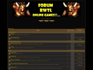 Forum RWTL Online Games!!...