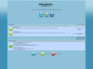 .::Safe Gaming private betting forum::.
