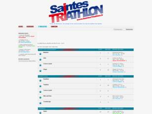 Saintes Triathlon Forum