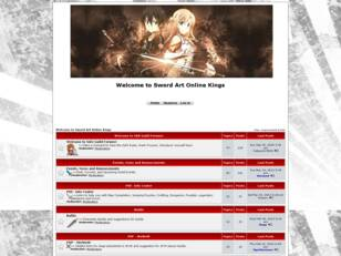 SAO Guild Wars 2 - Home page