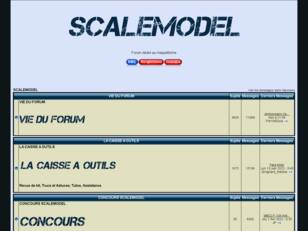 forum maquette  : scalemodel