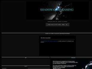 Free forum : Shadow Core Gaming