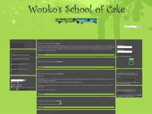 Wonko's School Of Cake Forums