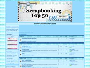 Scrapbooking Top 50 Australia Forum