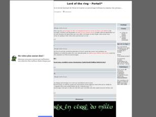 creer un forum : Lord of the ring