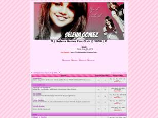 SelenaGomez Fan CLub 2009 |