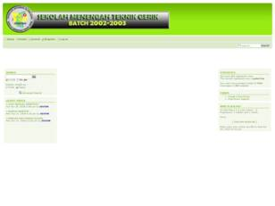Free forum : SEMETRIK BATCH 2002-2003