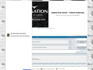 SENSATION WHITE - FORUM FRANCAIS