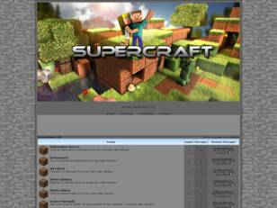 Serveur Minecraft SuperCraft