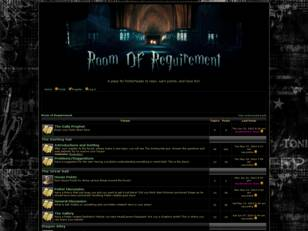 Free forum : Room of Requirement