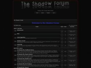 the Shadow Forum
