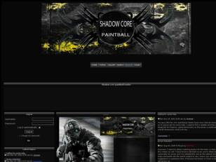Free forum : Shadow Core Paintball Team