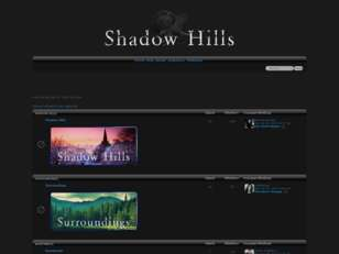 Shadow Hills RPG