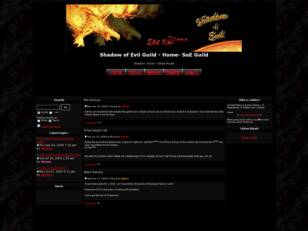 Free forum : Shadow of Evil Guild