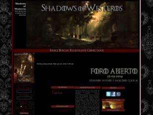 Foro gratis : Shadows of Westeros