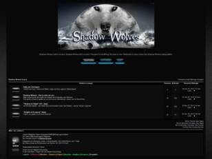 Forum: Shadow Wolves