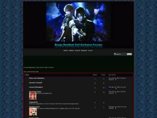 Boogs Resident Evil Darkness forums