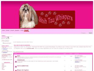 Shih Tzu Whispers - A Forum for Breed Enthusiasts
