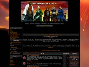 Shinobi Revelations: A Naruto Forum