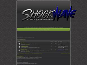 Shockwave Wrestling Entertainment Forum