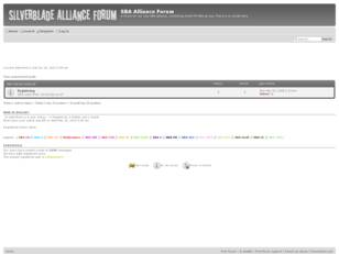 [SBA Forum] Alliance discussions