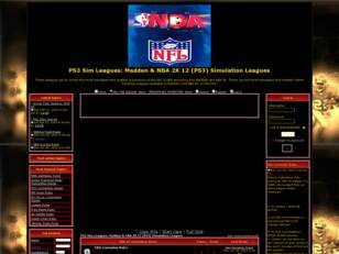 Sim Leagues: Madden/NBA (PS3) Simulation Leagues