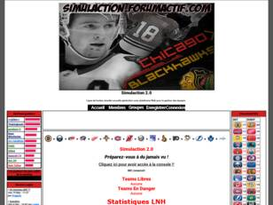 Simulaction 2.0 Ligue de Hockey