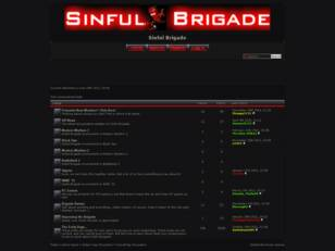 The Sinful Brigade: A PS3/Xbox/PC, CoD/Miscellaneous Gaming Clan.