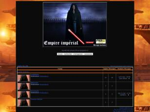 creer un forum : empire des sith