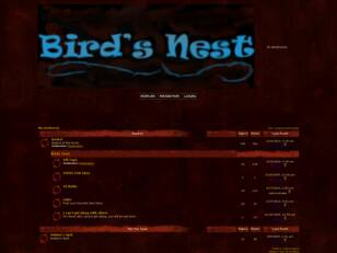 forum : the birdsnest