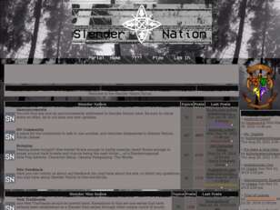 The Slender Nation Forums