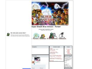 creer un forum : Super Smash Bros Univers