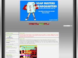 Welcome to Soap Busters Headquarters!