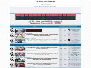 TuSoccerManager — Liga virtual de fútbol en español