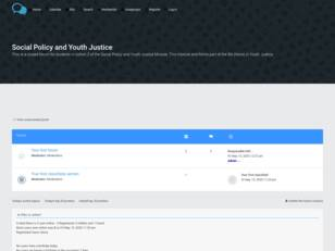 Social Policy and Youth Justice