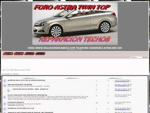 SOLUCIONES OPEL ASTRA TWIN TOP