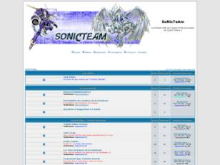 Bienvenue sur le Forum de la SonicTeam