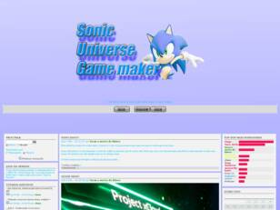 Sonic Universe Game Maker