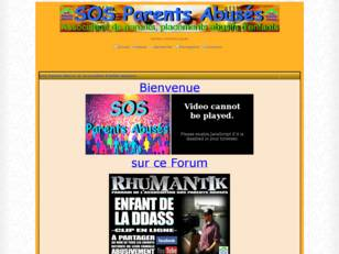 Association SOS Parents Abusés Le Forum