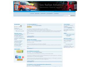 creer un forum : sos-rallye-amateur