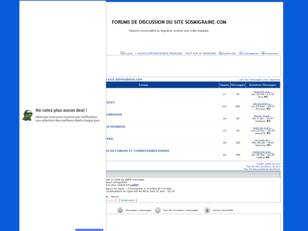 Forum gratis : FORUMS DE DISCUSSION DU SITE SOSMIG