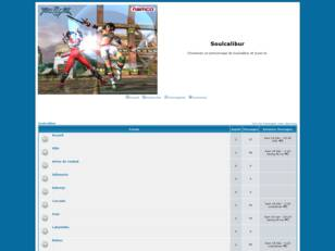 creer un forum : Soulcalibur