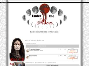 Foro de rol interpretativo: Under the Moon