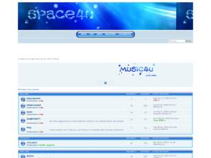 Forum gratis : Space4u