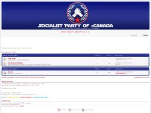 Socialist Party of eCanada