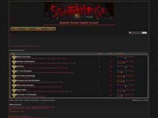 Splatter House Yugioh Forums