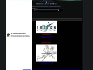 Alliance Final Fantasy Advent Children